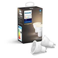 Philips Hue White 5.5W GU10 2 darabos szett - LED izzó