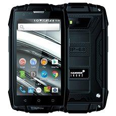 MyPhone Hammer Iron 2 fekete - Mobiltelefon