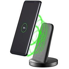 Cellularline vezeték nélküli gyors töltőállvány USB-C fekete - Vezeték nélküli töltő