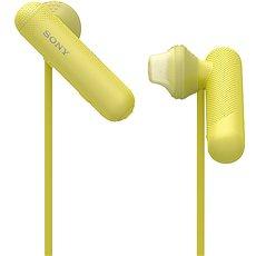 Sony WI-SP500 sárga - Mikrofonos fej-/fülhallgató