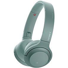 Sony Hi-Res WH-H800 Vezeték nélküli Fejhallgató és Headset, Bluetooth-os, zöld - Mikrofonos fej-/fülhallgató