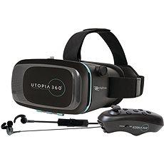RETRAK Utopia 360° VR + vezérlő + fejhallgató - Virtuális valóság szemüveg