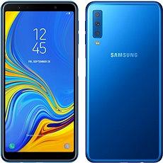 Samsung Galaxy A7 Dual SIM, kék - Mobiltelefon