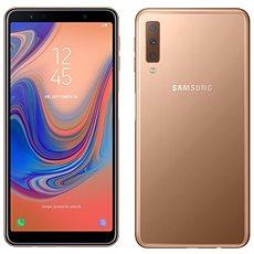 Samsung Galaxy A7 Dual SIM, arany - Mobiltelefon