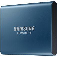 Samsung SSD T5 500 GB, kék - Külső merevlemez