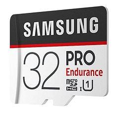 Samsung PRO Endurance microSDHC 32GB + SD adapter - Memóriakártya
