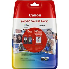 Canon PG-540XL + CL-541XL + Photo Paper GP-501 - Tintapatron