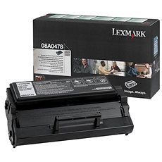 LEXMARK 08A0478 fekete - Toner