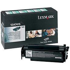 LEXMARK 12A7415 fekete - Toner