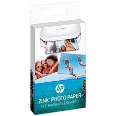 HP ZINK Sticky-Backet Photo Paper - Papír