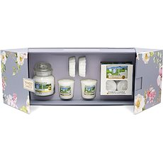 YANKEE CANDLE Garden Hideaway Set Clean Cotton