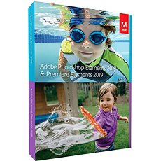 Adobe Photoshop Elements + Premiere Elements 2019 MP ENG Student & Teacher BOX - Szoftver