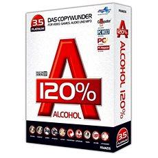 Alcohol 120% Lifetime (elektronikus licenc) - Égő szoftver
