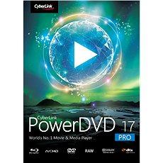 Cyberlink PowerDVD 17 Pro (elektronikus licenc) - Elektronikus licensz