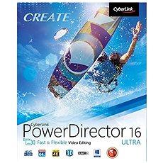CyberLink PowerDirector 16 Ultra (elektronikus licenc) - Szoftver vágása