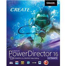 CyberLink PowerDirector 16 Ultimate (elektronikus licenc) - Szoftver vágása