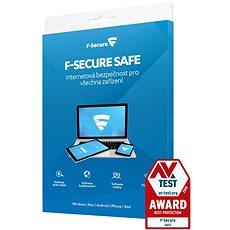 F-Secure SAFE 3 készülékhez 1 évre (elektronikus licenc) - Antivírus szoftver