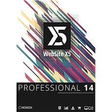 WebSite X5 Professional (elektronikus licenc) - Elektronikus licensz