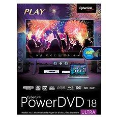 Cyberlink PowerDVD 18 Ultra (elektronikus licenc) - Elektronikus licensz