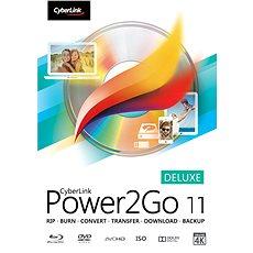 Cyberlink Power2GO Deluxe 11 (elektronikus licenc) - Elektronikus licensz