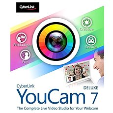 Cyberlink YouCam 7 Deluxe (elektronikus licenc) - Elektronikus licensz