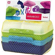 TEFAL VARIOBOLO CLIPBOX 2db színes ételtartó doboz - fiús - Ételtartó szett