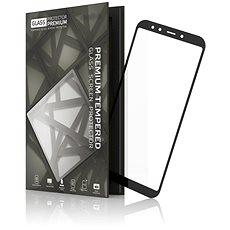 Tempered Glass Protector Xiaomi Mi A2 készülékhez keretes fekete - Képernyővédő