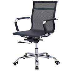TEMPO KONDELA Melis New, fekete - Irodai szék