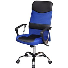 TEMPO KONDELA TC3-973M, kék-fekete - Irodai szék