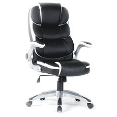 TEMPO KONDELA Saraka fehér/fekete - Irodai szék