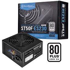 SilverStone Strider Essential 80Plus ST50F-ES230 500W - PC tápegység