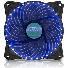 EVOLVEO 12L2BL LED 120mm kék - Számítógép ventilátor