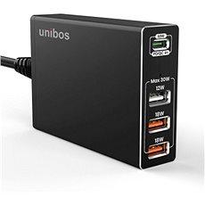 UNIBOS 4 Port 90W QC4+ Super Charger - Töltő