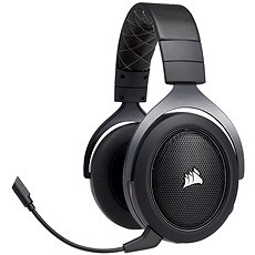 Corsair HS70 Wireless Carbon - Gamer fejhallgató