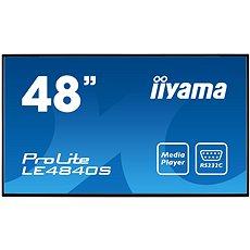 "48"" iiyama ProLite LE4840S-B1 - Nagyformátumú kijelző"