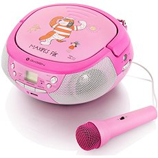 Gogen Maxi P rózsaszín-lila - Rádiómagnó