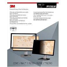 """3M az LCD kijelzőn 17""""-os, 5: 4-es, fekete - Szűrő"""