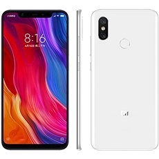 Xiaomi Mi 8 128GB LTE fehér - Mobiltelefon