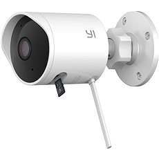 YI Outdoor 1080P Camera White - IP kamera