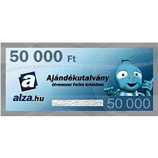 Elektronikus Alza.hu ajándékutalvány 50000 Ft értékben - Utalvány