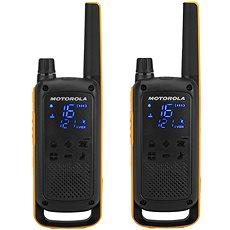 Motorola TLKR T82 Extreme, sárga / fekete - Walkie Talkie