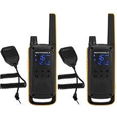 Motorola TLKR T82 Extreme, RSM Pack, Sárga / Fekete - Walkie Talkie