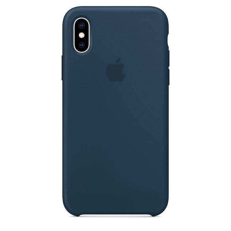 iPhone XS Max szilikontok, óceánzöld - Mobiltelefon hátlap