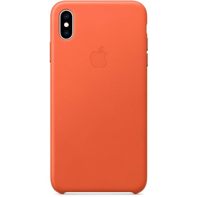 iPhone XS Max bőrtok, naplemente - Telefon hátlap