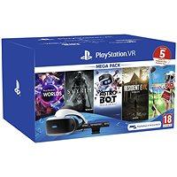 PlayStation PS4 VR + VR Worlds játék + kamera + PS4 PS MOVE