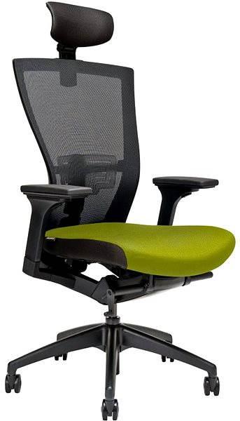 MERENS fejtámlával, zöld Irodai szék   Alza.hu