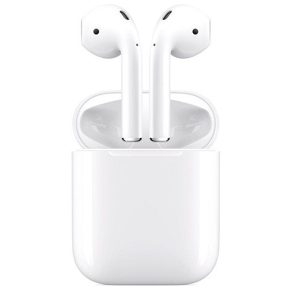 Apple AirPods 2019 vezeték nélküli töltőtokkal - Vezeték nélküli fül-/fejhallgató