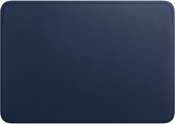 """Leather Sleeve MacBook Pro 16"""" - éjkék - Laptop tok"""