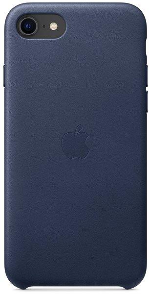 Apple iPhone SE (2020) bőrtok - éjkék - Mobiltelefon hátlap
