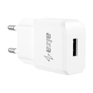 AlzaPower Smart Charger 2,1A fehér - Hálózati adapter